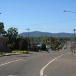 Mt Sugarloaf down Victoria Street