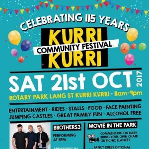 community festival flyer